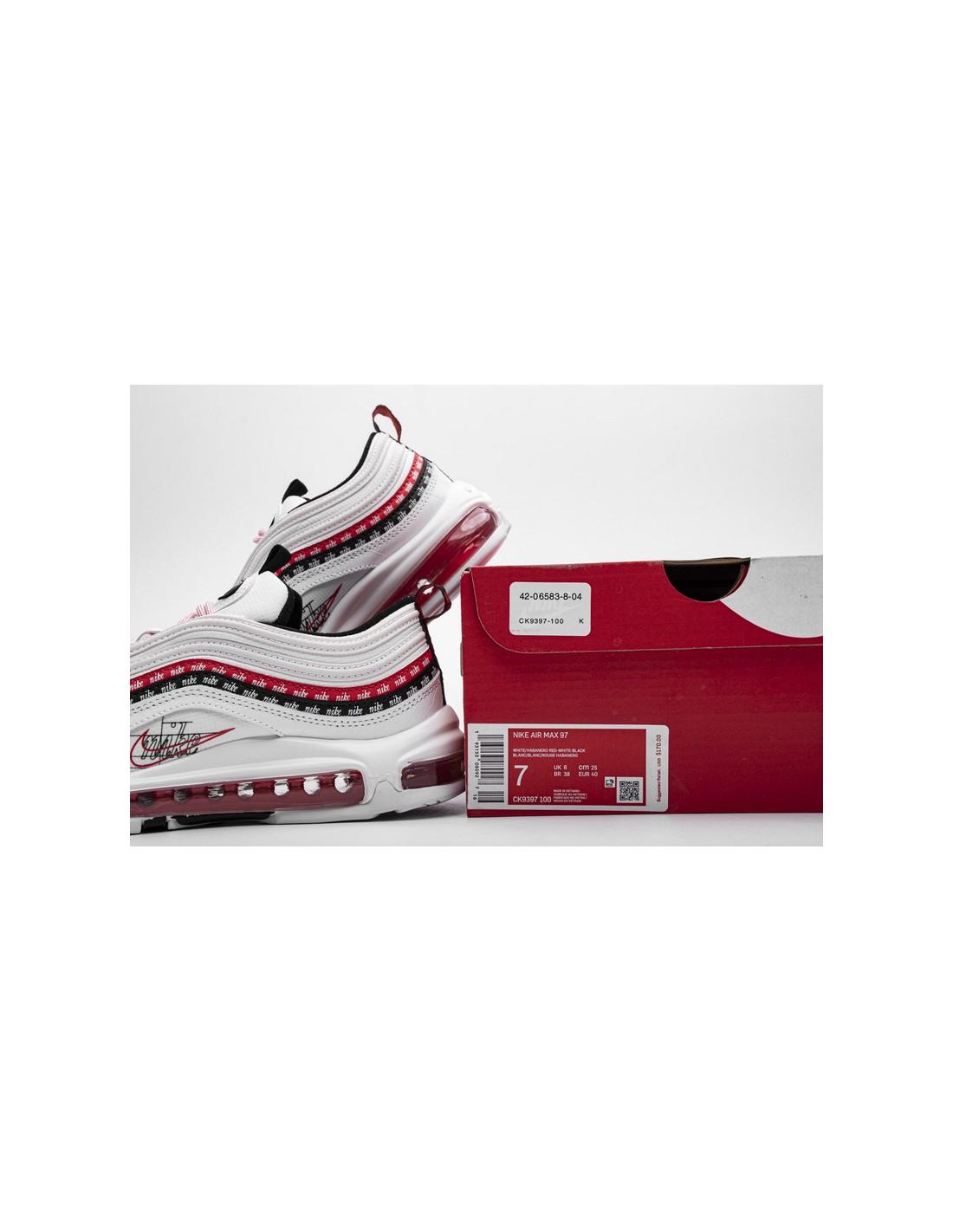 """Nike Air Max 97 """"Script Swoosh Pack"""" Men's & Women's Shoe"""