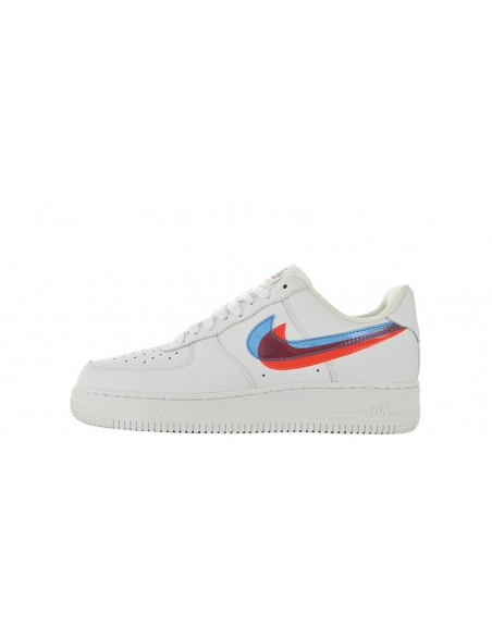 """Nike Air Force 1 Low """"3D White"""" pour Femme & Homme"""