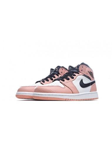 """Air Jordan 1 Mid GS """"Pink Quartz"""""""