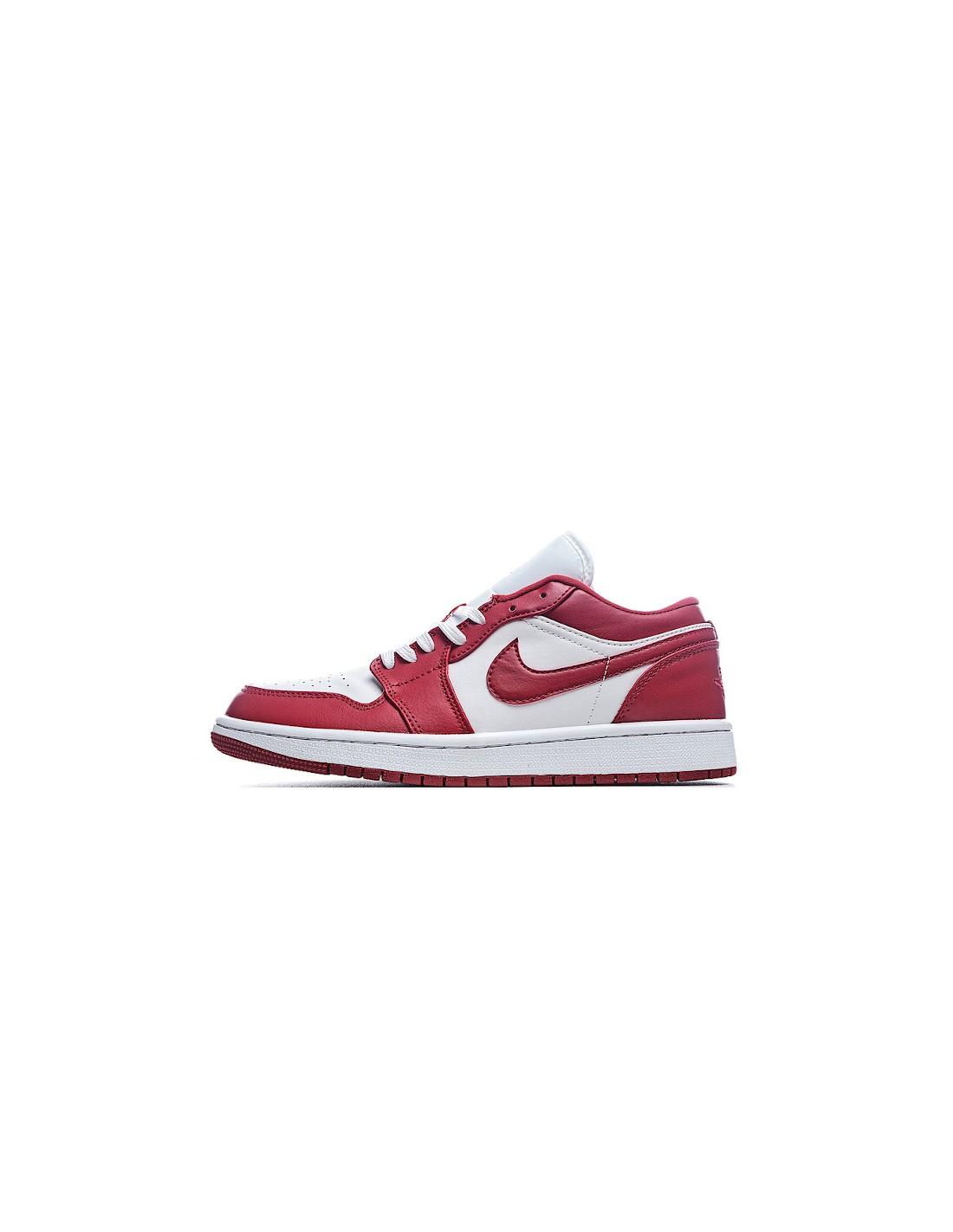 """Air Jordan 1 Low """"Gym Red White"""" Men's & Women's Shoe"""