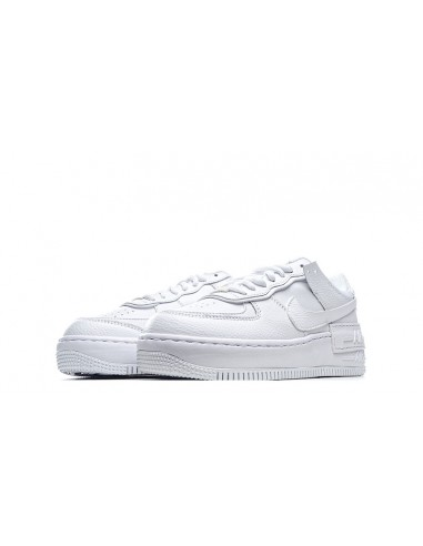 "Air Force 1 Low Shadow ""Triple White"""