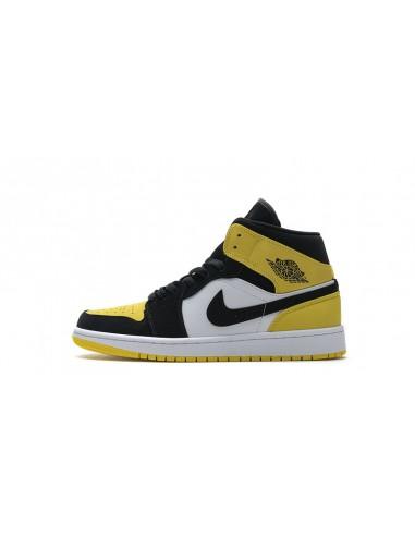 """Air Jordan 1 Mid SE """"Yellow Toe Black"""""""