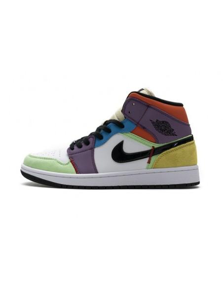 "Air Jordan 1 Mid SE ""Multicolor"""
