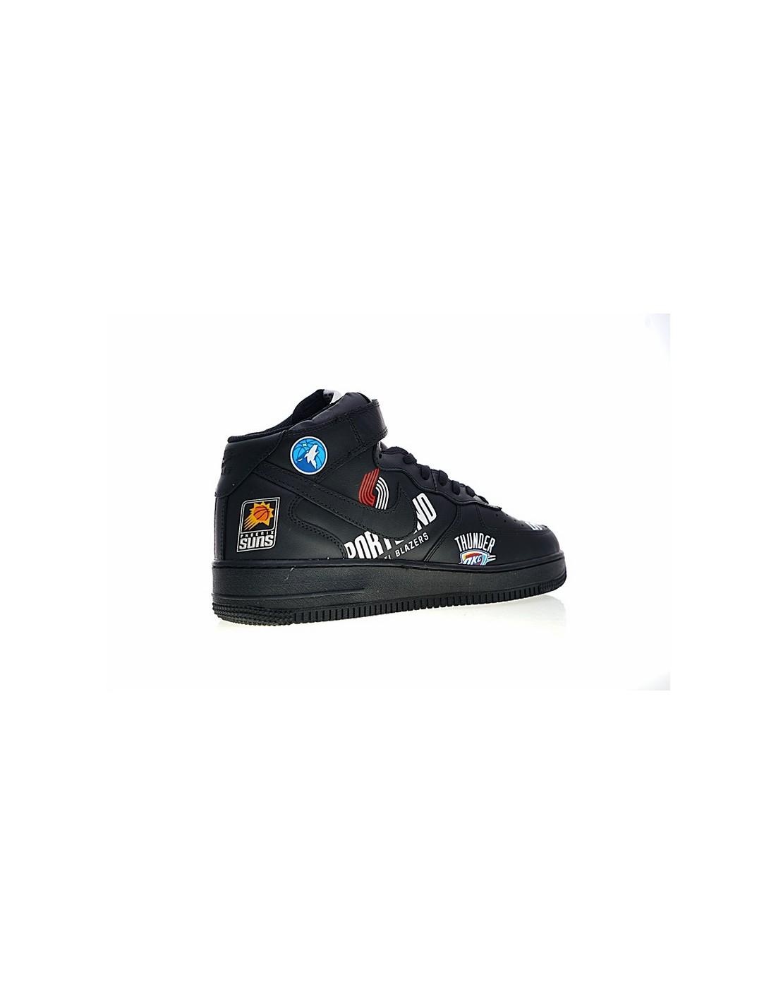 Air Force 1 AF1 Mid x Supreme x NBA