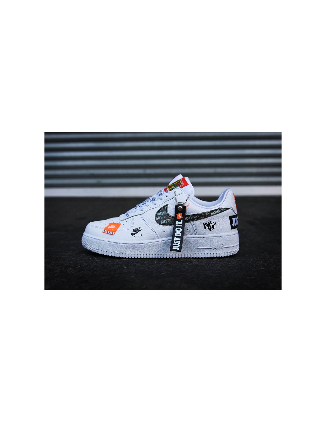 air force 1 just do it rouge