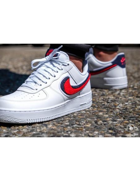 Nike Air Force 1 Low Chenille Swoosh Men S Amp Women S Shoe