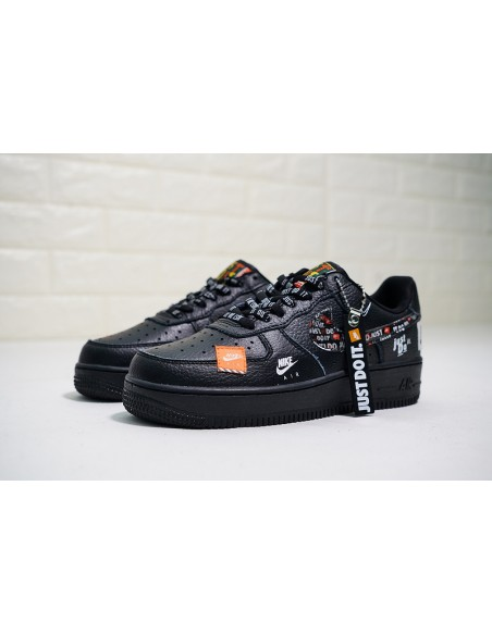 Buy nike air force 1 just do it womens orange > up to 59
