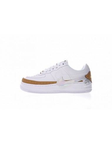 nike sneaker air force jester beige blau