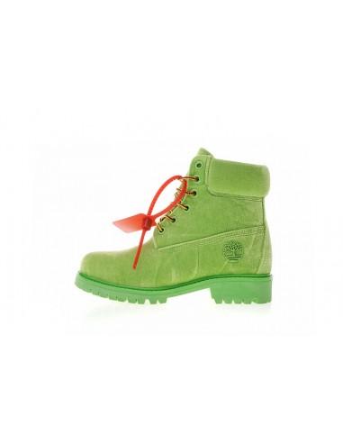Velvet Hiking Boots x OFF-WHITE