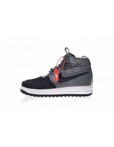 9cd936710f1d Nike Lunar Force 1 Duckboot  17 Men s Boot Shoe Size EU 40 US 7 UK 6 CM 25  Color Grey