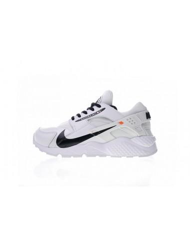 new style 4285a 04ce5 Nike Air Huarache Run Premium x Off-White Custom Men s   Women s Shoe
