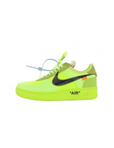 "Air Force 1 x Off-White ""Volt"""