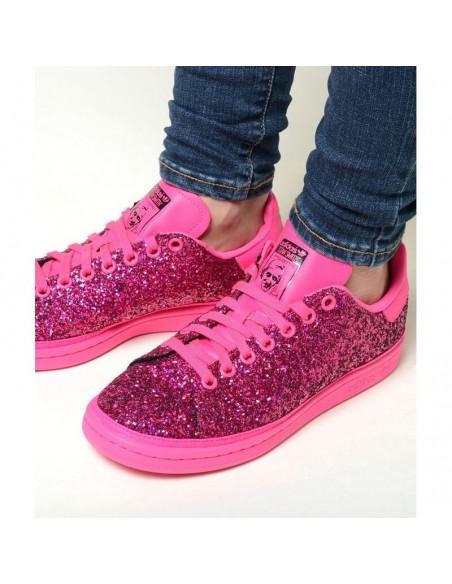 "Adidas Stan Smith ""Shock Pink"" Women's Shoe"