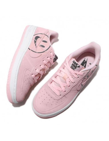 Air Force 1 Retro QS high top sneakers Paars