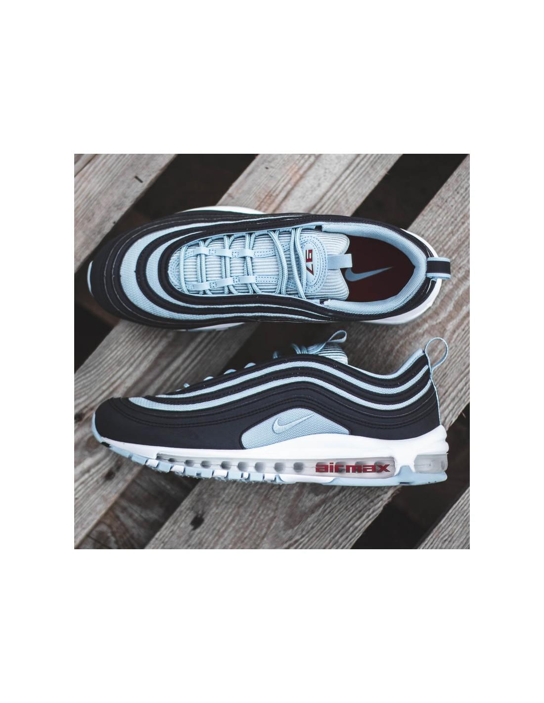 Cheap Men's Nike Air Max 90 Premium Casual Shoes Ocean Bliss