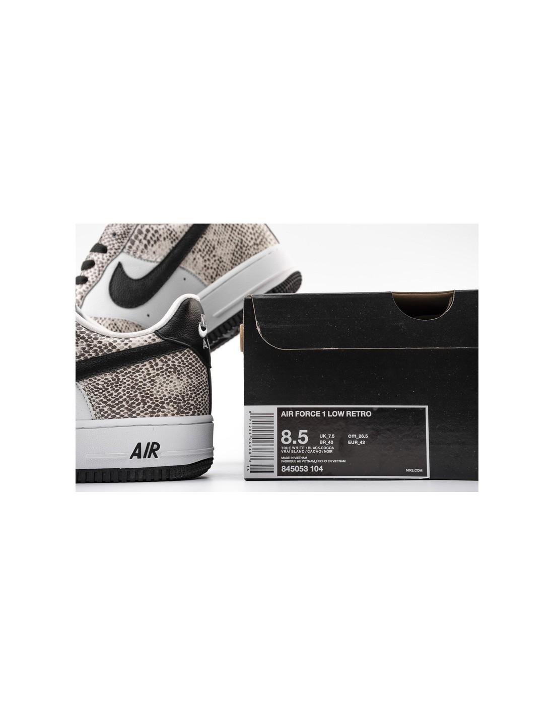 "Nike Air Force 1 Low ""Snake Cocoa"" Men's & Women's Shoe"