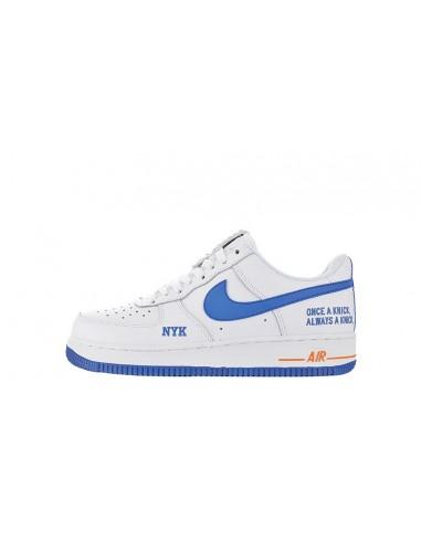 "big sale f9708 254b1 Nike Air Force 1 Low  07 TXT ""New York Knicks"" Men s Shoe"