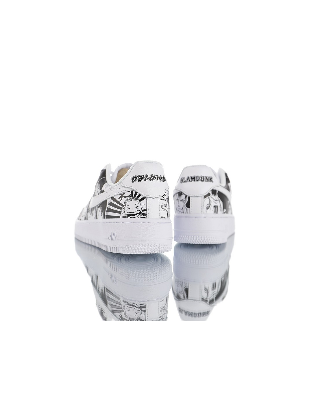"Nike Air Force 1 Low x SLAM DUNK ""Custom"" Men's & Women's Shoe"