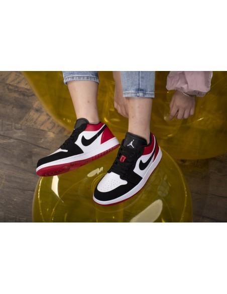 Air Jordan 1 Low Black Toe Men S Shoe