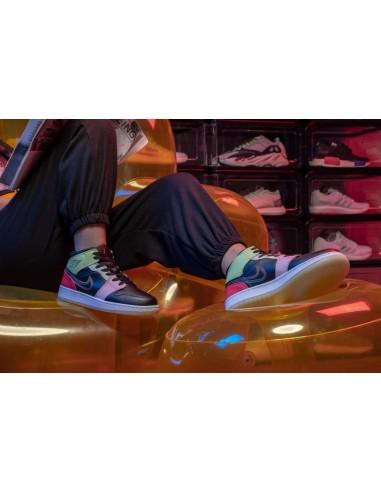 "Air Jordan 1 Mid GS ""Glow In The Dark"