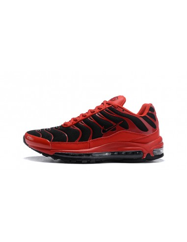 Nike Air Max 97 Plus TN Red White Men's Running Shoes Trainers NIKE CIU011701