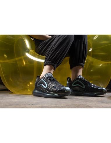 "Nike Air Max 720 Iridescent ""Throwback Future"" Men's Black"