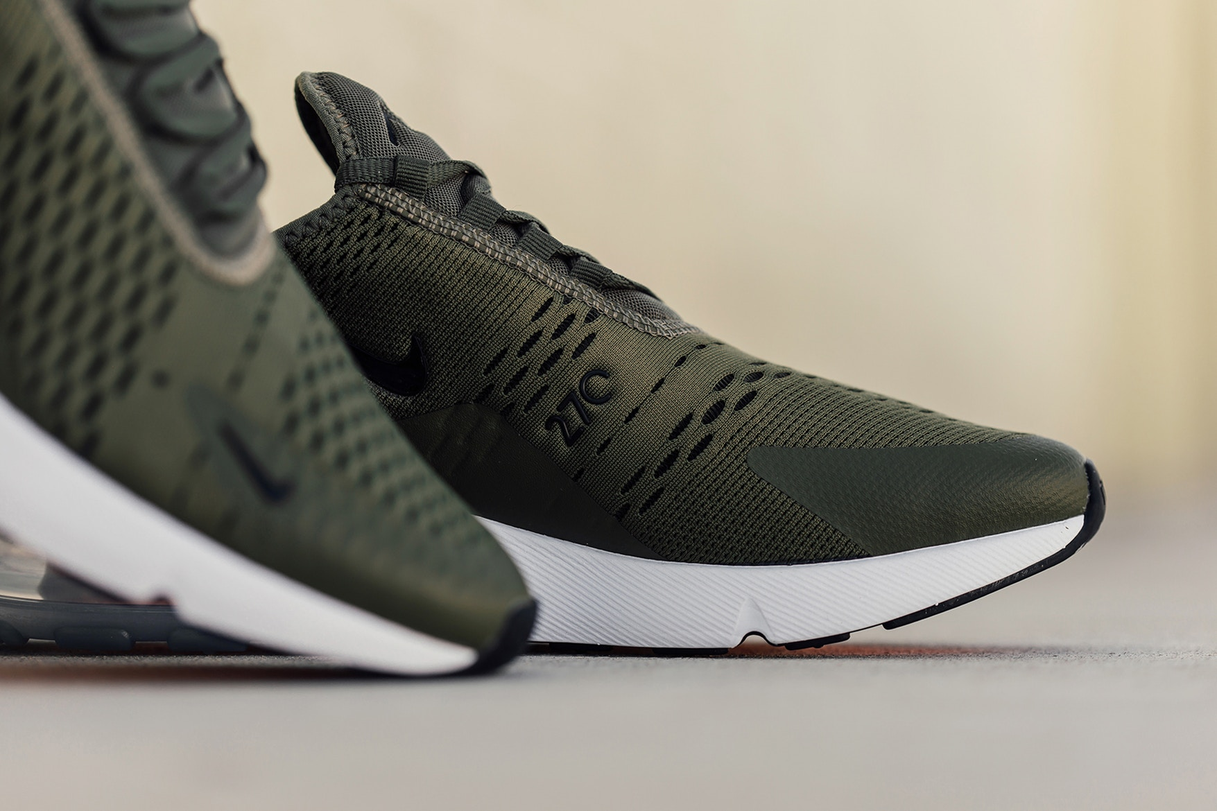 nike air max 270 medio olive: fashionmood